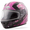 GM-49Y Celestial Full Face Helmet Celestial Pink/Purple/Black Youth Large