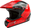 MX-46 Off-Road Colfax MX Helmet Red/Black X-Large