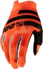 iTrack Gloves - Fluorescent Orange Short Cuff Youth X-Large