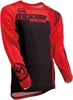 Sahara Athletic Fit Jersey - Black & Red 3X-Large