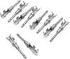 "Replacement DEUTSCH Style Pins - ""Open"" Crimp - Male 10 Pack - Replaces 72190-94"
