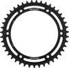 Steel Rear Sprocket 43T Black - For 97-16 Triumph
