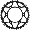 Rear Steel Sprocket 51T Black - For 83-17 Honda