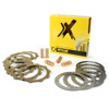 Complete Clutch Plate Set w/Springs - For 96-04 Honda XR400R
