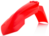 Front Fender Fluorescent Orange - For 16-18 KTM