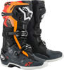 Tech 10 Boots Black/Grey/Orange/Fluorescent Red US 09