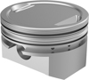 Cast Piston Kit 10.0:1 +.020 - For 86-19 Harley XL Sportster