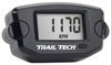 TTO Engine Hour Meter w/ Tachometer - Black