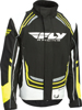 SNX Pro Jacket Black/White/Hi-Vis Youth Small