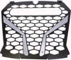 "Front Grill Silver for 10"" Light - For 18-19 Polaris RZR XP"