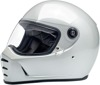 Lane Splitter Full Face Street Motorcycle Helmet White X-Small