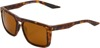 Renshaw Sunglasses Havana Brown w/ Bronze Lens