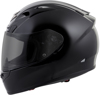 EXO-R710 Full-Face Solid Motorcycle Helmet Black Small