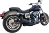 FiftyTwo52 2-in-1 Black Full Exhaust - For 06-17 H-D Dyna