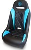 Extreme Diamond Solo Seat Black/Blue - 17-18 Can-Am Maverick X3 Turbo R