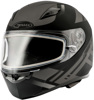 Ff-49 Full-Face Berg Snow Helmet Matte Black/Silver Lg