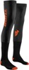 Compression Performance Socks - Black & Red Orange S/M
