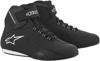 Women's Sektor Street Riding Shoes Black/White US 9