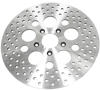 Drilled Vented Brake Rotor - For 79-99 Harley Softail Dyna Sportster