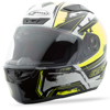 FF-88 Full-Face X-Star Helmet White/Hi-Vis Yellow X-Small