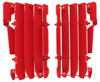Radiator Louver Cover Red - For 13-18 Beta