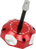 Red Billet Gas Cap w/Vent Tube - For 00-19 Suzuki RM/Z Yamaha TTR