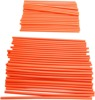 Orange Spoke Covers - 80 Pack - 40 Front & 40 Rear For MX Bikes