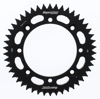 Aluminum Rear Sprocket 46T Black - For 00-17 Kawasaki Suzuki