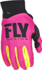 Pro Lite MX Riding Gloves Neon Pink/Hi-Vis Sz 13