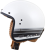 Belfast Open-Face Blanco Motorcycle Helmet White 3X-Large