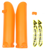 Lower Fork Cover Set Orange - For 13-17 KTM 85SX/S