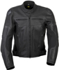 Ravin Leather Riding Jacket Black S