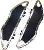 Bomber Series Driver Floorboards Chrome - For 80-20 HD