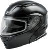 Md-01S Modular Snow Helmet Black Md