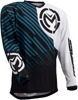 Qualifier Performance Fit Jersey - Black & White 3X-Large