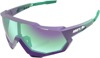 Speedtrap Sunglasses Blue/Purple w/ Blue/Purple Mirror Lens