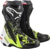 Crutchlow Riding Boots Black/Gray/Red/White/Yellow US 11.5
