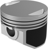 Cast Piston Kit 54CI 9.0:1 +.010 - For 86-19 Harley XL Sportster