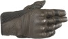 Mustang V2 Leather Motorcycle Gloves Brown/Black Large