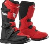 Blitz XP Dirt Bike Boots - Black & Red MX Sole Youth Size 2