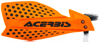 Ultimate X Handguards Orange/Black - For 72-18 ATV/MX