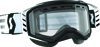 Goggle Prospect Snow Black/White Clear Lens
