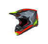 Anaheim 1 Limited Edition M-10 Motorcycle Helmet Red/Black/Yellow 2X-Large
