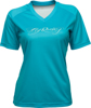 Women's Action Jersey Turquoise Small