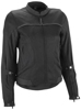 Women's Aira Mesh Riding Jacket Black 3X