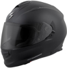 EXO-T510 Full-Face Solid Motorcycle Helmet Matte Black Large