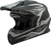 MX-86 Off-Road Revoke MX Helmet Matte Black/Silver X-Small