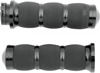 Air Cushioned Grips Black - For 84-18 Harley