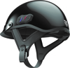 Cavalry Bluetooth Half Helmet Gloss Black X-Small