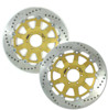 Front Brake Rotors Directional Left & Right 633LS & 633RS RC8/R